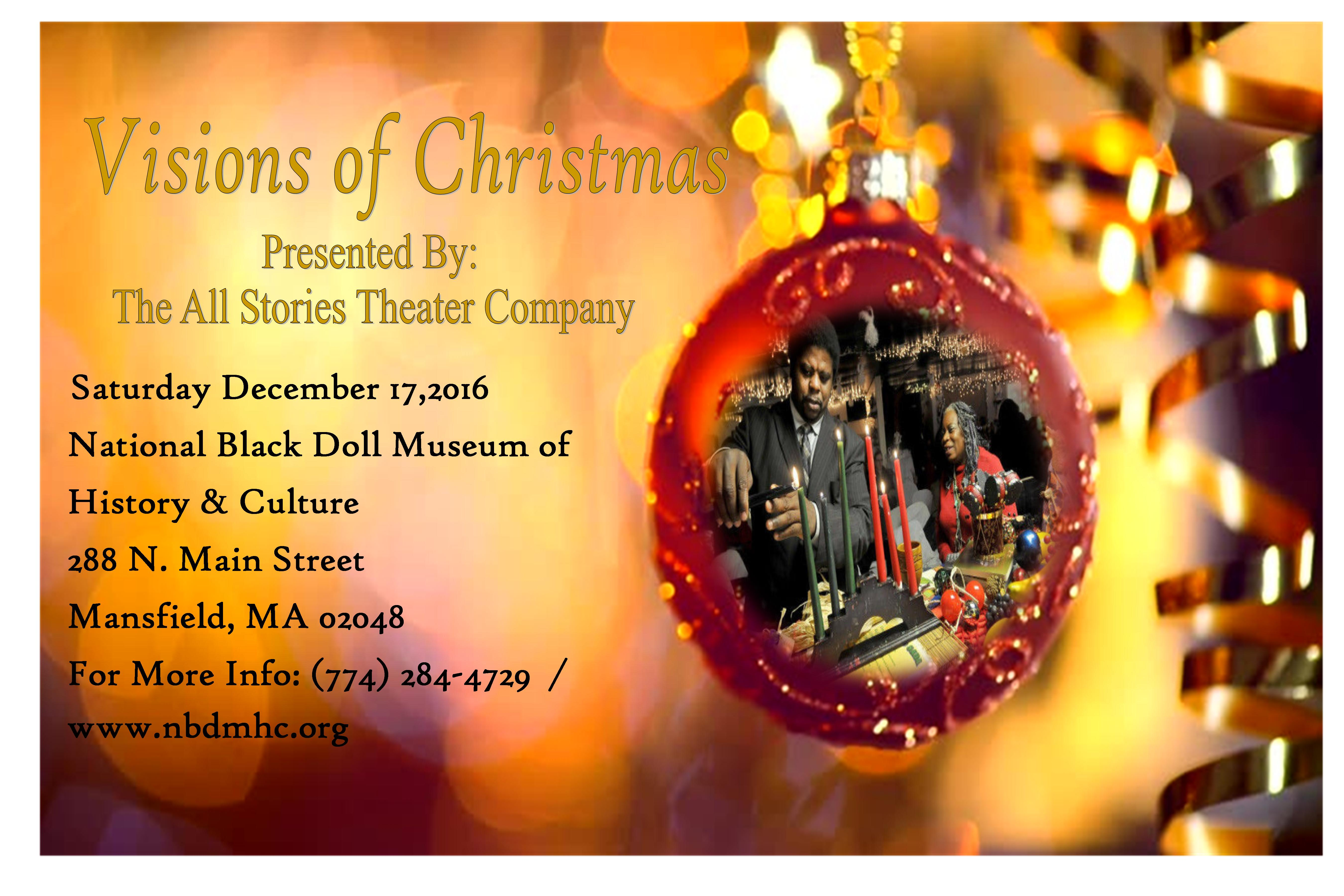 Community kwanzaa national black doll museum of history culture the all stories theater company will perform visions of christmas kristyandbryce Gallery